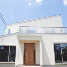 HEIG自由設計~片流れ屋根の二世帯住宅~